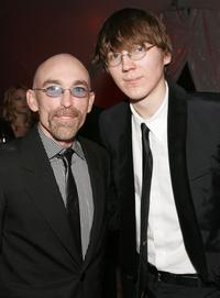 Jackie Earle Haley and Paul Dano at the NBC/Universal Golden Globe After Party.
