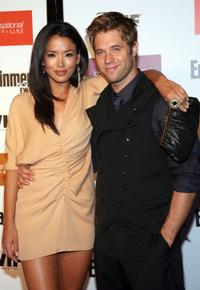 Stephanie Jacobsen and Shaun Sipos at the Entertainment Weekly And Women In Film's Pre-Emmy party.