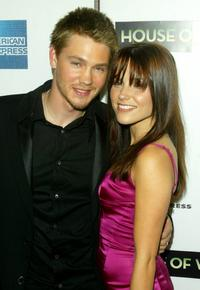 Chad Michael Murray and his wife Sophia Bush at the screening of