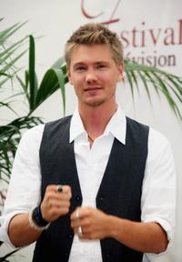 Chad Michael Murray at the second day of the 2007 Monte Carlo Television Festival.