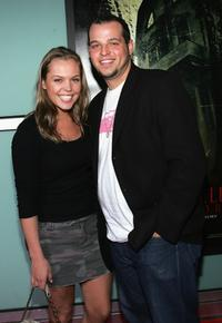 Agnes Bruckner and Daniel Franzese at the premiere of
