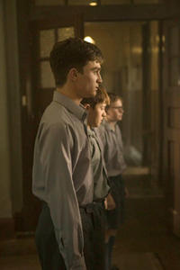 Daniel Radcliffe, Christian Byers and Lee Cormie in