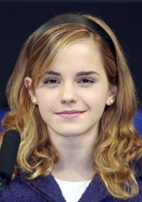 Emma Watson at the Harry Potter And The Goblet Of Fire