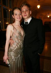 Karoline Herfurth and Matthias Schweighoefer at the award ceremony of the Bavarian Film Awards.