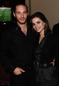 Tom Hardy and Charlotte Riley at the English National ballet cocktail reception.