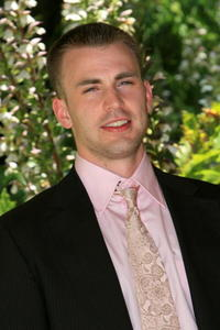 Chris Evans at the Rome photocall of the