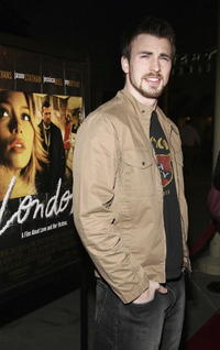 Chris Evans at the L.A. premiere of