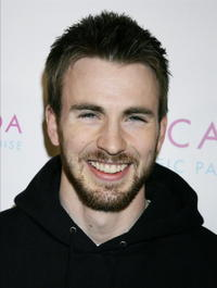 Chris Evans the Hollywood launch party for Escada's scent,