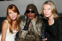 Maud Adams, Grace Jones and Jane Seymour at the celebration of Delta Ailrines' newest international route between New York and London.