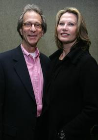 Maud Adams and her husband actor Charles Rubin at the Backlot Film Festival tribute for Budd Schulberg.