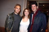 Joey Kern, Kat Foster and Zachary Haines at the Strike Show to benefit the Motion Picture and Television Fund.