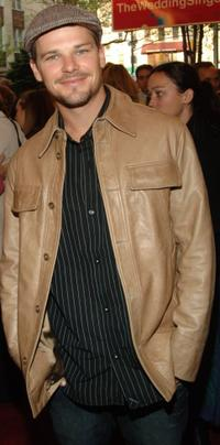 Nathan Phillips at the Broadway opening of
