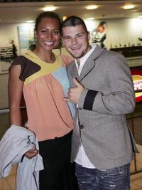 Alexi and Nathan Phillips at the premiere of