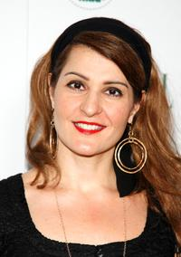 Nia Vardalos at the Elle's VIP reception to celebrate The Green Issue.