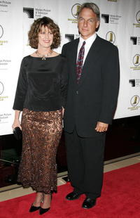 Mark Harmon and wife, actress Pam Dawber at the Golden Boot Awards.