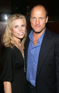 Woody Harrelson and Cheryl Hines at the 2007 Tribeca Film Festival, attend the after party for the film