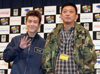 Edison Chen and director Soi Cheang at the screening of