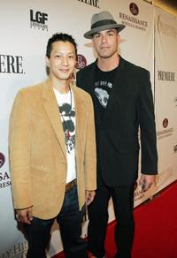 Will Yun Lee and Eric Etebari at the 5th Annual International Beverly Hills Film Festival.