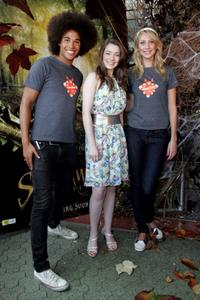 Kyle, Sarah Bolger and Maude at the Australian premiere of