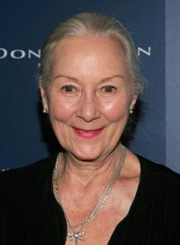 Rosemary Harris at the premiere of