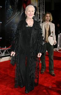 Rosemary Harris at the world premiere of