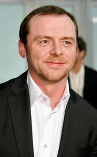 Simon Pegg at the premiere of