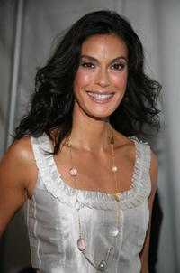 Teri Hatcher at the Mercedes-Benz Fashion Week Spring 2008.