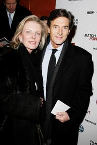 Nigel Havers and his guest at the UK premiere of