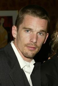 Ethan Hawke at a private cocktail reception for the Premiere of