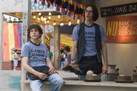 Jesse Eisenberg and Martin Starr in