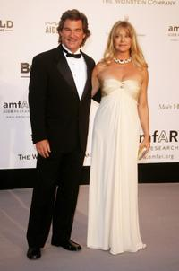 Goldie Hawn and Kurt Russell at the Cinema Against Aids 2007 in aid of amfAR at Le Moulin de Mougins.