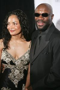 Isaac Hayes at the 2005 Songwriters Hall of Fame induction ceremony at the Marriott Marquis Hotel.