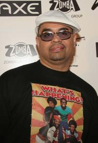 Heavy D at the BET Awards Pre-Party and Celebration.