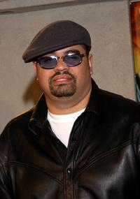 Heavy D at the California premiere of