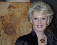 Tippi Hedren at the opening reception for acclaimed artist Nati Cauada.