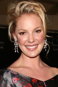 Katherine Heigl at the Mercedes-Benz Fashion Week in New York.