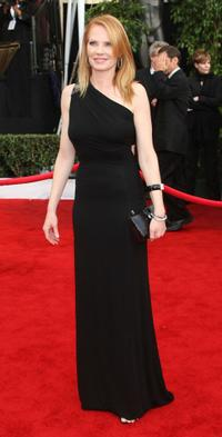 Marg Helgenberger at the 14th annual Screen Actors Guild awards.