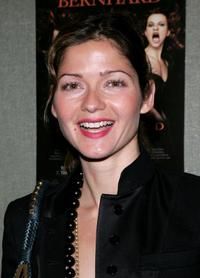 Jill Hennessy at the opening night of