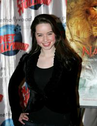 Anna Popplewell at the Planet Hollywood.