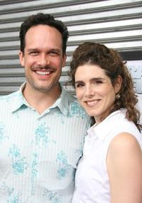 Diedrich Bader and his wife Dulcy Rogers at the premiere of