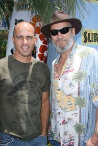 Jeff Bridges and Surfer Kelly Slater at the Premiere of