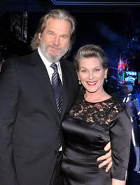 Jeff Bridges and Susan Bridges at the California premiere of