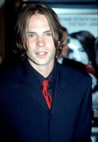 Barry Watson at the California premiere of