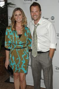 Tracy Hutson and Barry Watson at the Disney and ABC's TCA - All Star Party.