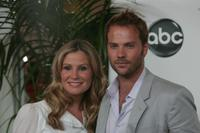 Barry Watson and Tracy Hutson at the 2007 ABC All Star Party.