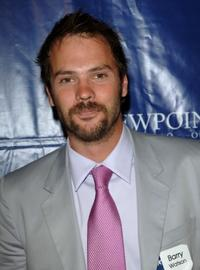 Barry Watson at the gala fundraiser for the Viewpoint School.