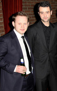 Michael Jibson and Daniel Mays at the world premiere of
