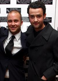 Director Eran Creevy and Daniel Mays at the world premiere of