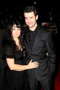 Lou Burton and Daniel Mays at the world premiere of