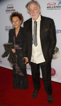 Caroline Ducrocq and Howard Hesseman at the International Myeloma Foundation's Second Annual Comedy Celebration.